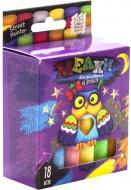 Набір крейди Danko Toys для малювання на асфальті 18 шт. MEL-02-04