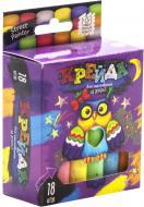 Набір крейди Danko Toys для малювання на асфальті 18 шт. MEL-02-04U