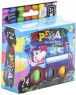 Набір крейди Danko Toys для малювання на асфальті 24 шт. MEL-02-05U