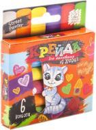 Набір крейди Danko Toys для малювання на асфальті 6 шт. MEL-02-01U