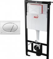 Інсталяція для унітаза Alcaplast AlcaPlast AM101/1120 + кнопка M70 (біла)
