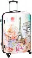 Валіза Paris 48x29.5x69 см Underprice білий