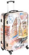Валіза Нью-Йорк 69x48x29,5 см Underprice білий