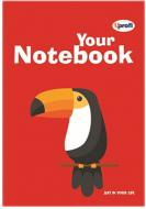 Книга для нотаток Artbook, red, В6 Profiplan