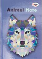 Книга для нотаток Animal note, violet, А5 Profiplan