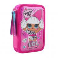 Пенал шкільний подвійний LOL Juicy 532766 YES рожевий