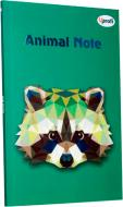 Блокнот Animal Note В6 40 листів зелений Uprofi plan
