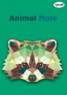 Книга для нотаток Animal note, green, А5 Profiplan