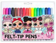 Фломастери LOL Sweety 18 кольорів 650387 YES