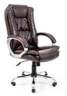 Кресло Richman Калифорния Ю Хром М-1 Титан Дк. Браун коричневый
