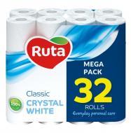 Туалетний папір Ruta Classic двошаровий 32 шт.