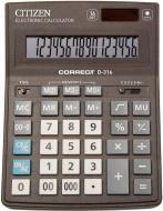Калькулятор D-316 професійний Citizen