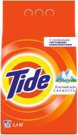 Пральний порошок для машинного прання Tide Альпійська свіжість 2,4 кг