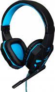Гарнітура Aula Prime Gaming Headset black/blue дротова