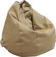 Крісло-мішок Soft М 160 л №034 темно-бежевий