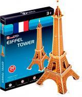 3D-пазл CubicFun Франція: Ейфелева вежа міні-серія S3006h