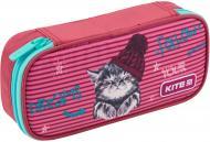 Пенал шкільний Education Fluffy Animals K19-662-3 KITE рожевий