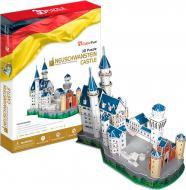 3D-пазл CubicFun Німеччина: Замок Нойшванштайн оновлений MC062h-2