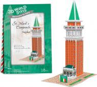 3D-пазл CubicFun Італія: Дзвіниця Святого Марка W3116h