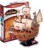 3D-пазл CubicFun Корабель Санта Марія T4008h