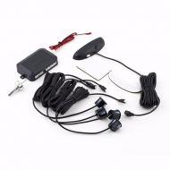 Парктроник автомобильный Noisy PR-04 на 4 датчика с LCD монитором Черный (hub_np2_1268)