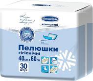 Пелюшки Білосніжка для немовлят гігієнічні 40х60 см 30 шт.