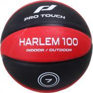 Баскетбольный мяч Pro Touch Harlem 100 310329-900050 р. 7 черный с красным