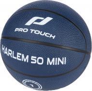 Баскетбольный мяч Pro Touch Harlem 50 Mini 413416-901522 р. 1 синий с белым