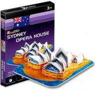 3D-пазл CubicFun Австралія: Сіднейський оперний театр міні-серія S3001h