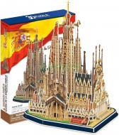 3D-пазл CubicFun Іспанія: Храм Святого Сімейства MC153h