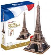 3D-пазл CubicFun Франція: Ейфелева вежа MC01091 (MC091h)