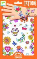 Набір наклейок-татуювань Djeco Мексиканська фієста з блискітками DJ09578