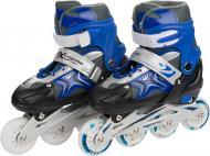 Роликові ковзани Extreme Motion RS16018  р. 35-38  блакитний