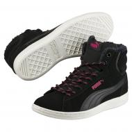 Ботинки Puma Vikky Mid Corduroy 36372902 р. 4 черный