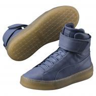 Ботинки Puma Platform Mid Wns 36522001 р. 3,5 голубой