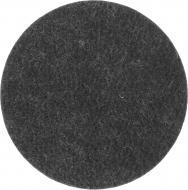 Самоклейка чорна повстяна d95 мм Comfort Textile Group 1 шт