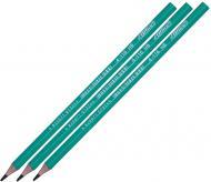 Олівець графітний HB зелений корпус 4-116 4Office