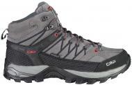 Ботинки CMP RIGEL MID TREKKING SHOE WP 3Q12947-44UF р.41 темно-серый