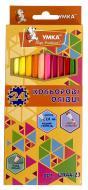 Олівці кольорові 24 кольорів Колормікс ЦК44-23 Умка