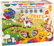 Тісто для ліплення OKTO Crazy Farm 560 г 11008
