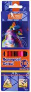 Олівці кольорові 18 кольорів Фауна ЦК47-21 Умка
