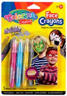 Карандаши для детского грима Colorino 5 цветов (80054PTR)