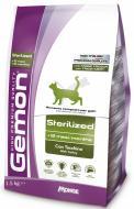 Корм GEMON Cat Sterilised з індичкою 1,5 кг