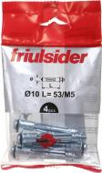 Анкер для гипсокартона 5x60 мм 1 шт М5x60 мм Friulsider
