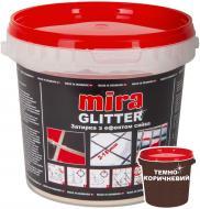 Фуга MIRA Glitter calcite 1 кг коричневий