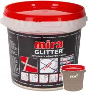 Фуга MIRA Glitter alabaster 1 кг бежевий