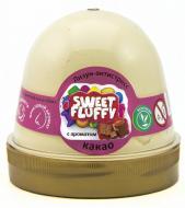 Лизун-антистрес OKTO Sweet fluffy Какао 120 мл бежевий 80108