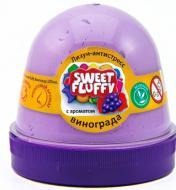Лизун-антистрес OKTO Sweet fluffy Виноград 120 мл бузковий 80113