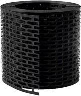 Вентиляційна стрічка звису MDM 100 мм чорна