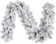 Гірлянда хвойна внутрішня 2,7м Dinsmore Frosted з ефектом снігу 1029758